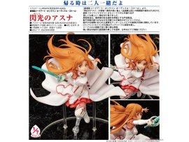 日版 Sword Art Online 刀劍神域 劇場版 the Movie Ordinal Scale  Asuna 亞絲娜 the Flash 閃光 1/7 PVC Figure