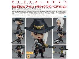 預訂 12月 GSC 1167 鬥陣特攻 黏土人 艾西 經典造型版 PVC Figure
