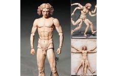 Freeing figma SP-075 Vitruvian Man The Table Museum PVC Figure