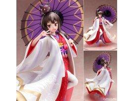 預訂 12月 日版 FNEX KONOSUBA God's blessing on this wonderful world! 為美好的世界獻上祝福! Legend of Crimson Megumin Shiromuku 惠惠 白無垢 1/7 Scale Figure Pre-order