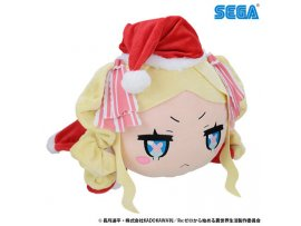 日版 SEGA Re:ZERO Starting Life in Another World 從零開始的異世界生活 Nesoberi Plush 巨趴 Beatrice 碧翠絲 Santa LL