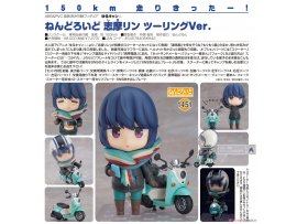 預訂 2月 日版 Good Smile Nendoroid 1451 Yuru Camp 搖曳露營△ Rin Shima Touring 志摩凜 機車之旅 Ver Pre-order