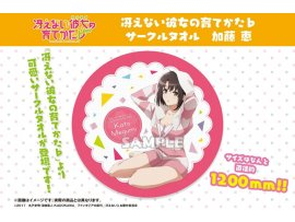 預訂 2月 Bushiroad Creative Saekano: 不起眼女主角培育法 How to Raise a Boring Girlfriend Flat - Circular Towel Megumi Kato 加藤惠