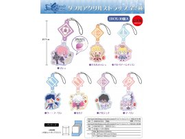 "TwinCre Fate/Grand Order - ""Design produced by Sanrio"" Double Acrylic Strap 10Pack BOX 掛件"