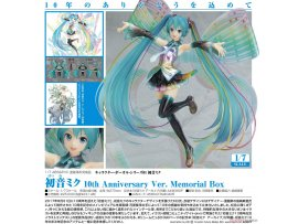 Good Smile 初音未來 Character Vocal Series 01. Hatsune Miku 10th Anniversary Ver. Memorial Box 1/7