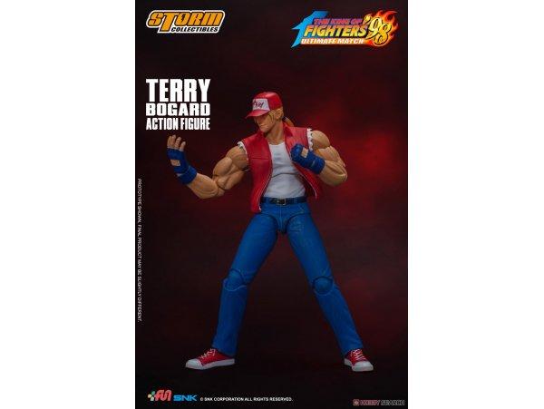 預訂 2月 日版 Storm Collectibles The King of Fighters 98 格鬥天王'98 Ultimate Match Action Figure Terry Bogard PVC Figure