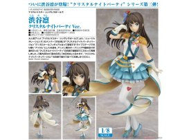 日版 GOODSMILE THE IDOLM@STER Cinderella Girls 渋谷凛 Rin Shibuya Crystal Night Party Ver 1/8 PVC Figure