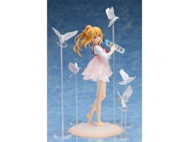 日版 Aniplex Shigatsu wa Kimi no Uso 四月是你的謊言 Miyazono Kaori 宮園薰 Arima Kosei to no Deai 1/8 PVC Figure