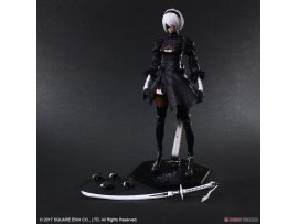 預訂 4月 日版  JP Square Enix NieR:Automata PLAY ARTS Kai [YoRHa No.2 Type B]  PVC Figure