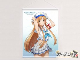 "預訂 2月 日版 Curtain Tamashii 刀劍神域Alicization戰爭   明日奈  亞絲娜 ""Sword Art Online Alicization War of Underworld"" B2 Tapestry Asuna / Sailor  Pre-order"