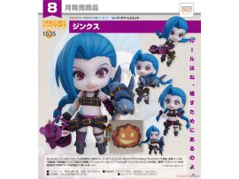 預訂 8月 日版  Good Smile  英雄聯盟 1535 黏土人 吉茵珂絲 Nendoroid League of Legends Jinx Pre-order