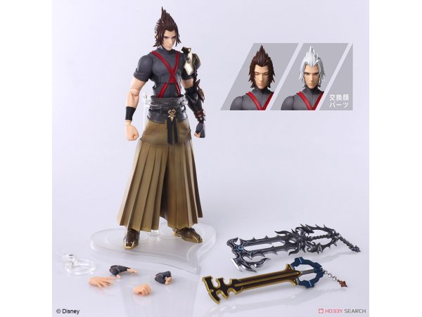 預訂 5月 日版  Square Enix 王國之心  Terra Action  KINGDOM HEARTS III BRING ARTS Terra Action PVC Figure