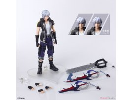 預訂 2月 日版  Square Enix 王國之心 里克 KINGDOM HEARTS III BRING ARTS Riku Version 2 Action  PVC Figure