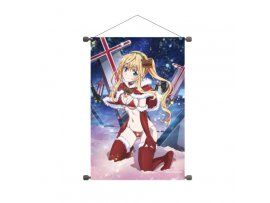 預訂 3月 A3  B2縦タペストリー 戦×恋(ヴァルラヴ) 01 クリスマスVer. 早乙女七樹 Tapestry