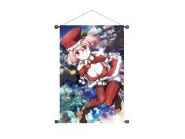 預訂 3月 A3  B2縦タペストリー 戦×恋(ヴァルラヴ) 03 クリスマスVer. 早乙女六海 Tapestry