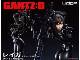 Union Creative Hdge technical statue No.15 GANTZ:O 殺戮都市 麗香 Reika X Shotgun ver. Figure Pre-order