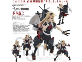 日版 Max Factory figma 364 Kantai Collection 艦娘 Kan Colle Yudachi Kai-II 夕立改二