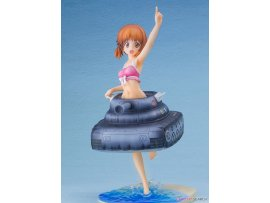 預訂 3月  FuRyu 水着&戦車 劇場版 西住 Girls und Panzer the Movie - Miho Nishizumi -Panzer vor!- Swimsuit & Tank Ver. 1/7 PVC Figure