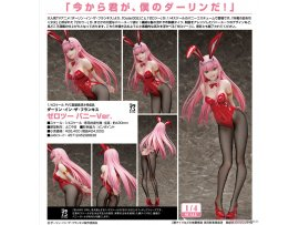 FREEING  Darling in the FranXX  02 Bunny Ver  1/4 PVC FIGURE