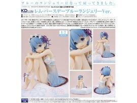 日版 Re:ZERO Starting Life in Another World 從零開始的異世界生活 Rem 雷姆 生日 Birthday Blue Lingerie Ver 1/7 PVC Figure