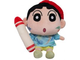 日版 San-ei Boeki Crayon Shin-chan 蠟筆小新 Plush Transformed Shin-chan (S) Graffiti Ver Pre-order