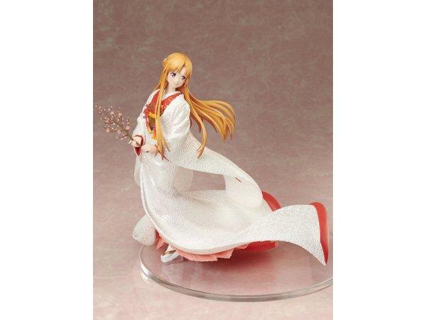 預訂 3月 日版 FNEX Sword Art Online 刀劍神域 Alicization 結城明日奈 Asuna 亞絲娜 白無垢 Shiromuku Ver 1/7 PVC Figure