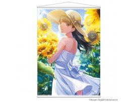 預訂 4月 Indor  ラブプラス -Blossom Girl- B2タペストリー マナカ