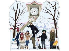 預訂 4月 WIZARD  僕のヒーローアカデミア ゆきまつり 描き下ろし アクリルコレット時計