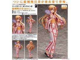 Freeing Sword Art Online II 刀劍神域 2  Asuna Yuuki  結城明日奈 Yukata Ver. 1/8  Figure