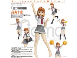 日版 MAX Factory figma 326 Love Live! Sunshine!! 明星學生妹 Chika Takami 高海千歌