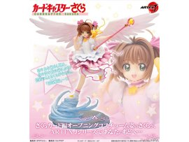 壽屋 Kotobukiya ARTFX J - Cardcaptor Sakura 百變小櫻 Sakura Kinomoto 木之本櫻 Sakura Card Arc 1/7 PVC Figure