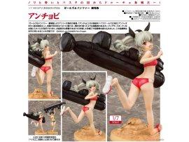 預訂 4月 日版 PHAT Girls und Panzer the Movie 少女與戰車 Anchovy 安丘比 1/7 PVC Figure Pre-order