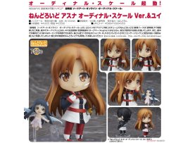 Good Smile Nendoroid 750c Sword Art Online the Movie 刀劍神域劇場版 Ordinal Scale Asuna 亞絲娜 Ordinal Scale Ver Yui 結衣