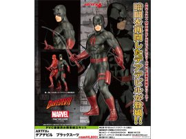日版  Kotobukiya 黑夜魔俠  ARTFX+ - MARVEL UNIVERSE: Daredevil Black Suit 1/10 Easy Assembly Kit