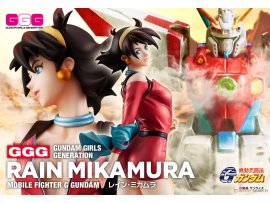 預訂 4月 日版 MegaHouse GGG Mobile Fighter G Gundam G高達 Rain Mikamura 深村玲 PVC Figure Pre-order