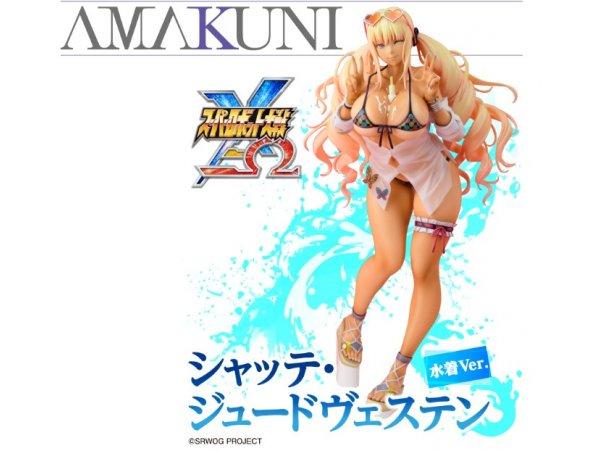 預訂 4月 hobby japan 超級機器人大戰X-Ω Chatte Judvesten 泳裝Ver PVC FIURE