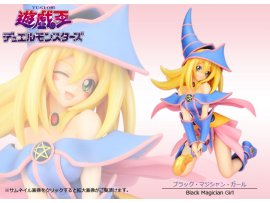 Kotobukiya 壽屋 Yu-Gi-Oh! Duel 遊戲王 Monsters  Dark Magician Girl 黑魔導女孩 1/7  Figure