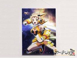 預訂 5月 Curtain Tamashii  戦姫絶唱シンフォギアXV 描き下ろしB2タペストリー 響