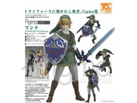 GOODSMILE figma 319 - 薩爾達傳說黃昏公主 林克 The Legend of Zelda Twilight Princess: Link Twilight Princes ver.
