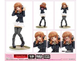 WAVE Girls und Panzer the Movie 少女與戰車 劇場版  Saori Takebe  武部沙織 Panzer Jacket Ver. 1/8  Figure
