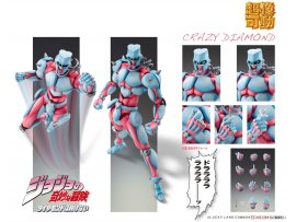 預訂 5月 日版 Medicos Entertainment Super Action Statue 超像可動 JoJo's Bizarre Adventure Part.4 Crazy Diamond JoJo的奇妙冒險第四部不滅鑽石 Pre-order