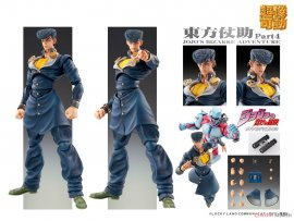 預訂 5月 日版 Medicos Entertainment Super Action Statue 超像可動 JoJo's Bizarre Adventure Part.4 Josuke Higashikata JoJo的奇妙冒險第四部不滅鑽石 東方仗助 Pre-order