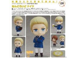 預訂 5月 日版 Good Smile Nendoroid 1231 Hetalia World Stars 義呆利 World☆Stars Germany 德國 Pre-order