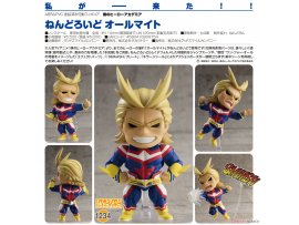 Good Smile Nendoroid 1234 My Hero Academia 我的英雄學院 All Might 歐爾麥特 Pre-order