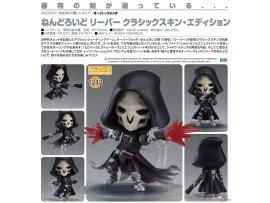 預訂 5月 日版 Good Smile Nendoroid 1242 Overwatch 鬥陣特攻 Reaper 死神 Classic Skin Edition Pre-order