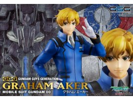預訂 5月 日版 MegaHouse Gundam Guys Generation Mobile Suit 機動戰士高達 Gundam 00 Graham Aker 格拉哈姆·艾卡 1/8 PVC Figure Pre-order