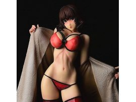 預訂 5月  Hanabatake to Bishojo  艾雅 Bake no Kawa by Linda Sexy Red Limited Edition PVC Figure