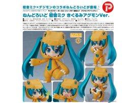 日版 Good Smile Nendoroid 1439 Hatsune Miku 初音未來 Kigurumi Agumon 亞古獸 Ver