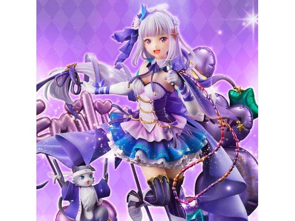 預訂 5月 日版 SSFigure Re:ZERO Starting Life in Another World 從零開始的異世界生活 Emilia 愛蜜莉雅 Idol Ver 1/7 PV Figure
