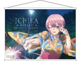 """6月 Movic 五等分的新娘 五等分の花嫁 タペストリー 一花 (""""The Quintessential Quintuplets"""" Tapestry Ichika)"""
